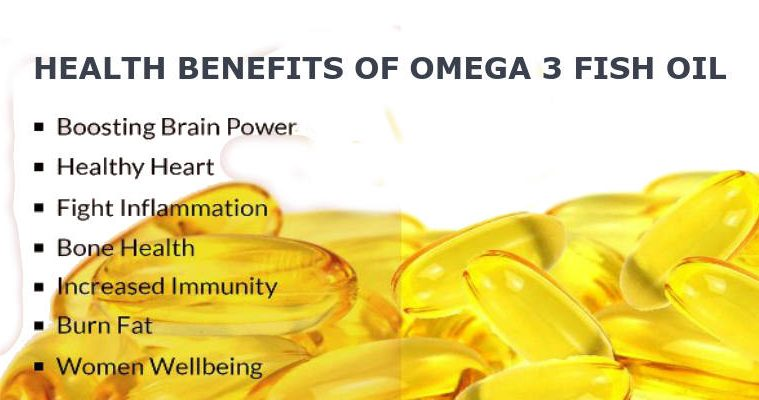 Health Benefits of Omega 3 fish oil