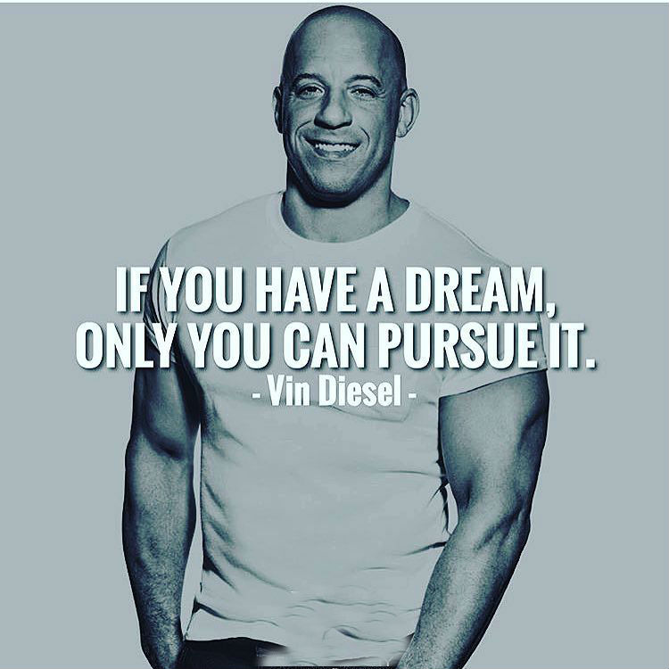 Vin Diesel Motivation