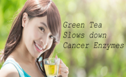 green-tea-reduce cancer enzymes